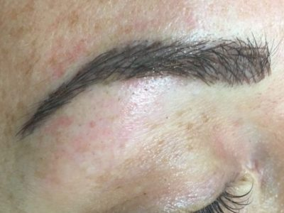 Lone Tree Corrective Permanent Makeup Brows - After