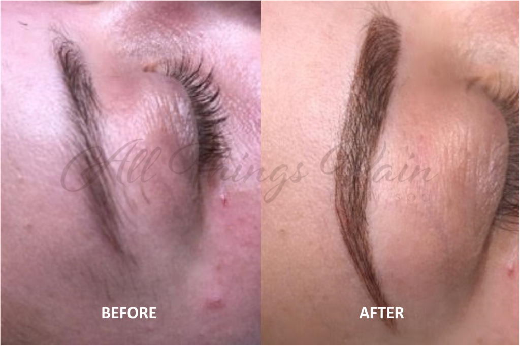 Permanent Makeup Brows 8-2018