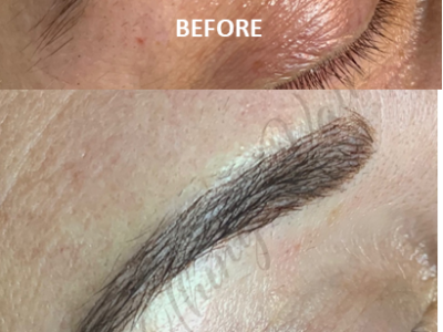 Before and After Microblading Brows3 June 2021